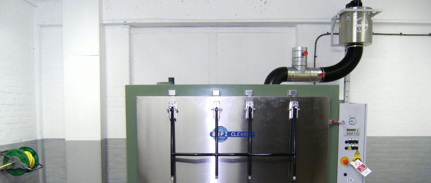 filter voor schoonmaak machine